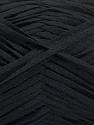 Fiber Content 100% Acrylic, Brand ICE, Black, Yarn Thickness 3 Light  DK, Light, Worsted, fnt2-56695