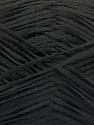 Fiber Content 100% Acrylic, Brand ICE, Black, Yarn Thickness 2 Fine  Sport, Baby, fnt2-56705