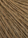 Fiber Content 60% Acrylic, 40% Wool, Brand ICE, Camel, Yarn Thickness 3 Light  DK, Light, Worsted, fnt2-56997