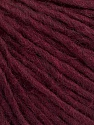 Fiber Content 50% Acrylic, 50% Wool, Brand ICE, Burgundy, Yarn Thickness 4 Medium  Worsted, Afghan, Aran, fnt2-57013