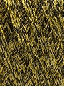 Fiber Content 85% Viscose, 15% Metallic Lurex, Olive Green, Brand ICE, Black, Yarn Thickness 3 Light  DK, Light, Worsted, fnt2-57038