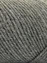 Fiber Content 50% Wool, 50% Acrylic, Brand ICE, Grey, Yarn Thickness 3 Light  DK, Light, Worsted, fnt2-57172
