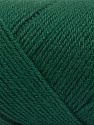 Fiber Content 50% Wool, 50% Acrylic, Brand ICE, Dark Green, Yarn Thickness 3 Light  DK, Light, Worsted, fnt2-57176