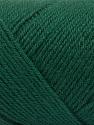 Fiber Content 50% Wool, 50% Acrylic, Brand ICE, Dark Green, Yarn Thickness 3 Light  DK, Light, Worsted, fnt2-57176