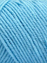 Items made with this yarn are machine washable & dryable. Fiber Content 100% Acrylic, Light Blue, Brand ICE, Yarn Thickness 4 Medium  Worsted, Afghan, Aran, fnt2-57423
