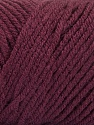 Items made with this yarn are machine washable & dryable. Fiber Content 100% Acrylic, Maroon, Brand ICE, Yarn Thickness 4 Medium  Worsted, Afghan, Aran, fnt2-57430