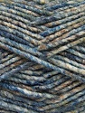 Fiber Content 70% Acrylic, 30% Wool, White, Brand ICE, Camel, Blue Shades, Yarn Thickness 4 Medium  Worsted, Afghan, Aran, fnt2-57641