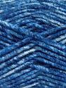 Fiber Content 70% Acrylic, 30% Wool, Brand ICE, Blue Shades, Yarn Thickness 4 Medium  Worsted, Afghan, Aran, fnt2-57647