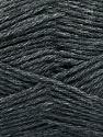 Fiber Content 65% Merino Wool, 35% Silk, Brand ICE, Anthracite Black, Yarn Thickness 3 Light  DK, Light, Worsted, fnt2-57664