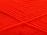 Fiber Content 60% Acrylic, 40% Wool, Neon Orange, Brand ICE, Yarn Thickness 3 Light  DK, Light, Worsted, fnt2-58337
