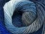 Fiber Content 60% Premium Acrylic, 20% Alpaca, 20% Wool, Brand ICE, Grey, Blue Shades, Yarn Thickness 2 Fine  Sport, Baby, fnt2-58420