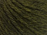 Fiber Content 60% Acrylic, 40% Wool, Brand ICE, Dark Green, Yarn Thickness 6 SuperBulky  Bulky, Roving, fnt2-58569