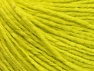 Fiber Content 50% Acrylic, 50% Wool, Neon Yellow, Brand ICE, Yarn Thickness 3 Light  DK, Light, Worsted, fnt2-58932