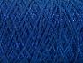 Fiber Content 90% Cotton, 10% Metallic Lurex, Brand ICE, Blue, Yarn Thickness 4 Medium  Worsted, Afghan, Aran, fnt2-60136
