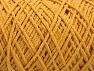 Fiber Content 100% Cotton, Brand ICE, Dark Yellow, Yarn Thickness 4 Medium  Worsted, Afghan, Aran, fnt2-60165