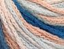 Fiber Content 50% Acrylic, 50% Polyamide, White, Light Salmon, Light Blue, Brand ICE, Yarn Thickness 4 Medium  Worsted, Afghan, Aran, fnt2-60358