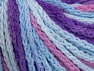 Fiber Content 50% Polyamide, 50% Acrylic, Orchid, Lilac, Brand ICE, Blue Shades, Yarn Thickness 4 Medium  Worsted, Afghan, Aran, fnt2-60365