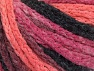 Fiber Content 50% Polyamide, 50% Acrylic, Salmon, Pink, Orchid, Brand ICE, Black, Yarn Thickness 4 Medium  Worsted, Afghan, Aran, fnt2-60439