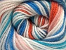 Fiber Content 100% Premium Acrylic, Turquoise, Orange, Light Pink, Brand ICE, Blue, Yarn Thickness 3 Light  DK, Light, Worsted, fnt2-60878