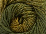 Fiber Content 75% Premium Acrylic, 25% Wool, Brand ICE, Green Shades, Yarn Thickness 4 Medium  Worsted, Afghan, Aran, fnt2-61024