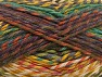 Fiber Content 100% Premium Acrylic, Teal, Maroon, Brand ICE, Green Shades, Copper, Yarn Thickness 4 Medium  Worsted, Afghan, Aran, fnt2-61106