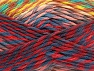 Fiber Content 100% Premium Acrylic, Yellow, Navy, Brand ICE, Green Shades, Burgundy, Brown, Yarn Thickness 4 Medium  Worsted, Afghan, Aran, fnt2-61115
