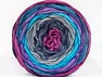 Fiber Content 100% Acrylic, Turquoise, Orchid, Lilac, Brand ICE, Grey Shades, Blue, Yarn Thickness 4 Medium  Worsted, Afghan, Aran, fnt2-61163