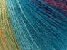 Fiber Content 60% Acrylic, 20% Wool, 20% Angora, Turquoise, Purple, Maroon, Brand ICE, Green, Gold, Yarn Thickness 2 Fine  Sport, Baby, fnt2-61195
