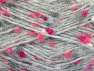 Fiber Content 50% Polyamide, 40% Premium Acrylic, 10% Polyester, Pink Shades, Brand ICE, Grey, Yarn Thickness 4 Medium  Worsted, Afghan, Aran, fnt2-61289