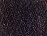 Fiber Content 75% Viscose, 25% Metallic Lurex, Lilac, Brand ICE, Black, fnt2-62222