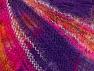 Fiber Content 37% Kid Mohair, 35% Acrylic, 28% Polyamide, Purple, Brand ICE, Gold, Fuchsia, fnt2-62663