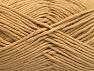 Fiber Content 50% Cotton, 50% Acrylic, Light Brown, Brand ICE, fnt2-62732