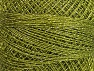Fiber Content 70% Polyester, 30% Metallic Lurex, Brand YarnArt, Green, Yarn Thickness 0 Lace  Fingering Crochet Thread, fnt2-63078