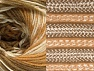 Fiber Content 70% Acrylic, 30% Wool, Light Brown, Brand ICE, Cream, Camel, Yarn Thickness 3 Light  DK, Light, Worsted, fnt2-63206