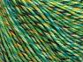 Fiber Content 55% Cotton, 45% Acrylic, Yellow, Turquoise, Purple, Brand ICE, Green, fnt2-63412