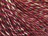 Fiber Content 55% Cotton, 45% Acrylic, White, Red, Maroon, Lilac, Brand ICE, Brown, fnt2-63413