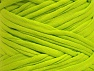 Make handbags,rugs,basket and cushion covers with this genius new-fashion yarn!<p>Since the yarn is made by upcycling fabrics, and because of the nature of the yarn; take the following notes into consideration. </p><ul><li>Fiber content information may vary. Information given about fiber content is approximate. </li><li>The yardage and weight information of the yarn is approximate. </li></ul> Fiberinnehåll 95% Bomull, 5% Elastan, Neon Green, Brand ICE, fnt2-63573