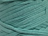 Make handbags,rugs,basket and cushion covers with this genius new-fashion yarn!<p>Since the yarn is made by upcycling fabrics, and because of the nature of the yarn; take the following notes into consideration. </p><ul><li>Fiber content information may vary. Information given about fiber content is approximate. </li><li>The yardage and weight information of the yarn is approximate. </li></ul> Fiber Content 95% Cotton, 5% Elastan, Mint Green, Brand ICE, fnt2-63575