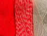 Fiber Content 90% Acrylic, 10% Polyester, Neon Pink, Brand ICE, Ecru, fnt2-64027