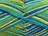 Fiber Content 100% Cotton, Brand ICE, Green Shades, Blue Shades, fnt2-64039