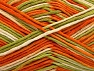 Fiber Content 100% Cotton, White, Orange, Brand ICE, Green Shades, fnt2-64195
