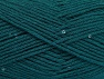 Fiber Content 98% Acrylic, 2% Paillette, Brand ICE, Emerald Green, fnt2-64449