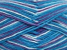 Fiber Content 100% Cotton, Turquoise Shades, Lilac, Brand ICE, fnt2-64451