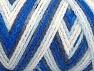 Fiber Content 50% Polyamide, 50% Acrylic, White, Navy, Brand ICE, Blue Shades, fnt2-64465