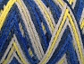 Fiber Content 50% Polyamide, 50% Acrylic, Yellow, White, Brand ICE, Blue Shades, fnt2-64469