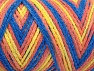 Fiber Content 50% Polyamide, 50% Acrylic, Yellow, Light Salmon, Brand ICE, Blue, fnt2-64480