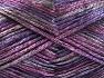 Fiber Content 70% Polyamide, 19% Wool, 11% Acrylic, Purple, Pink, Brand Ice Yarns, Black, fnt2-64597