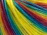 Fiber Content 56% Polyester, 44% Acrylic, Rainbow, Brand Ice Yarns, fnt2-64625