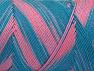 Fiber Content 100% Acrylic, Turquoise Shades, Salmon Shades, Brand Ice Yarns, fnt2-64647