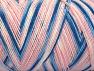 Fiber Content 100% Acrylic, White, Pink, Brand Ice Yarns, Blue, fnt2-64651